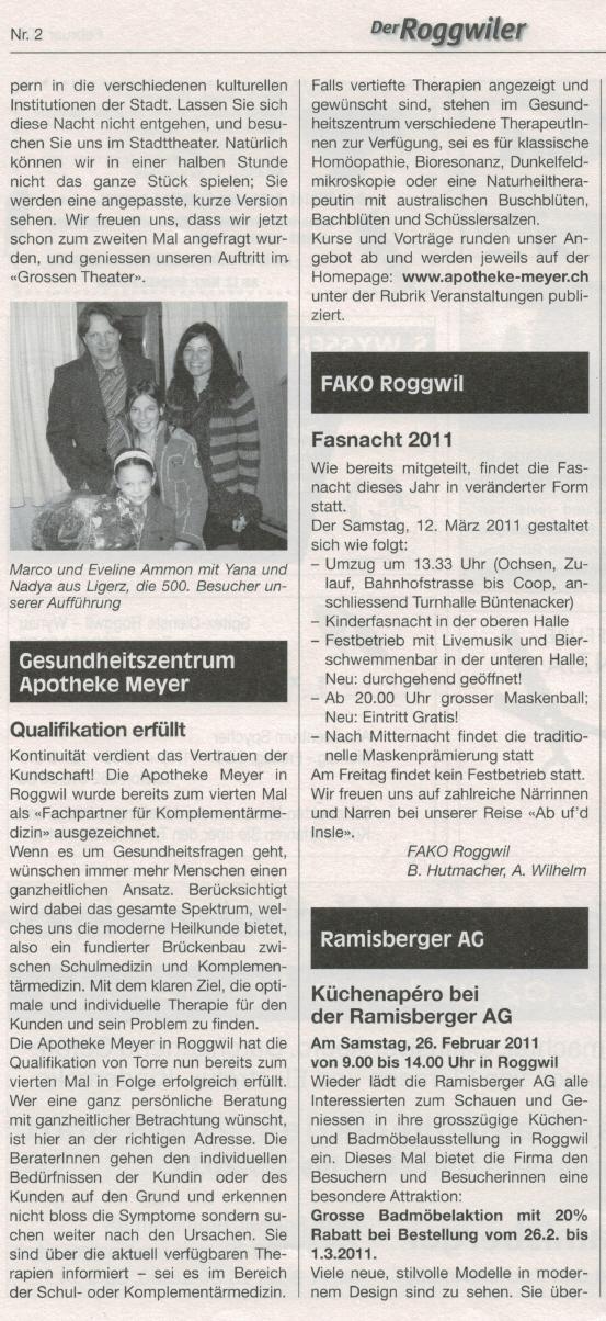 Apotheke Meyer Roggwil Ag Gesundheitszentrum